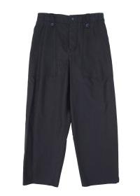 cupra/cotton fatigue pants