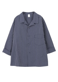S 2/3 sleeve stripe shirts