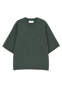 cotton linen knit T