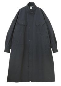Suede tone work coat