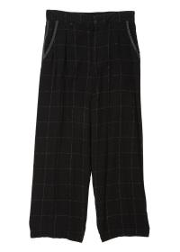 S Kasuri Check - Pants