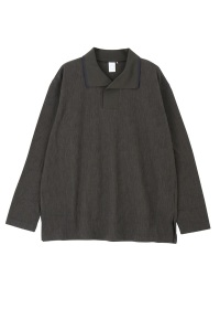 Straiped crepe knit - shirts