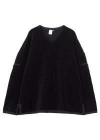 GF Quilting velour pullover