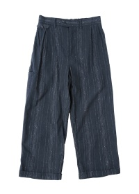 (O) KASURI NEP 2 TUCK STRAIGHT PANTS
