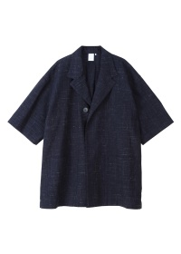 (O) ONE BUTTON TAILOR COLLAR SHIRTS