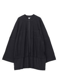 YORYU JERSEY ZIP LONG-T
