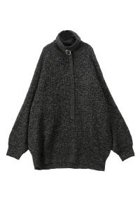 Turtle belt knit