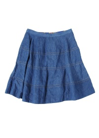 TSUMORI CHISATO / S C/Liデニム / スカート