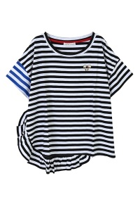 TSUMORI CHISATO / S マルチボーダー / Tシャツ