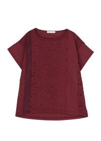 TSUMORI CHISATO / 太陽マラカス刺繍T / Tシャツ