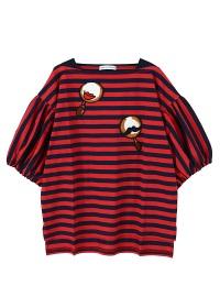 TSUMORI CHISATO / マラカス刺繍T / Tシャツ