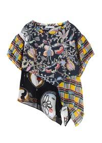 TSUMORI CHISATO / ようきな世界へT / Tシャツ