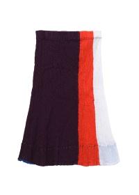 TSUMORI CHISATO / クレプリマルチボーダー / スカート