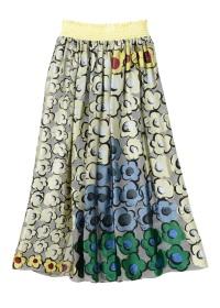 TSUMORI CHISATO / S フラワーピラミッドオパールT / スカート