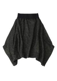 TSUMORI CHISATO / ラメモヘアストレッチ / スカート