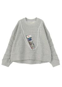 TSUMORI CHISATO / リヨセルコットン裏毛 / カットソー