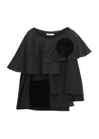 TSUMORI CHISATO / シルキーフリルT / Tシャツ
