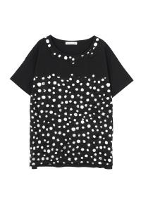 TSUMORI CHISATO / キャットドットレースT / Tシャツ