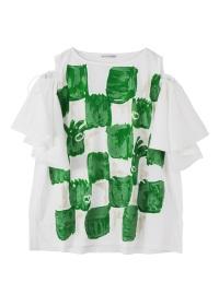 TSUMORI CHISATO / ビッグブロックチェックT / Tシャツ