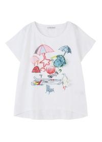 TSUMORI CHISATO / ニュージーエンブロT / Tシャツ
