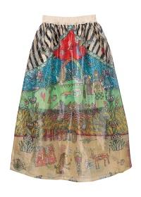 TSUMORI CHISATO / エジプトグラフィティドッキングT / スカート