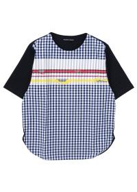 TSUMORI CHISATO / メンズ ハバナギンガムT / Tシャツ