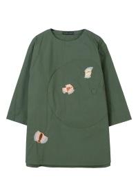 TSUMORI CHISATO / メンズ パレットパッチシャツ / シャツ