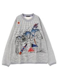 TSUMORI CHISATO / メンズ ビルバオユニバースT / Tシャツ