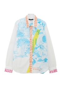 TSUMORI CHISATO / メンズ パラダイスオブアニマルシャツ / シャツ
