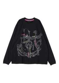 TSUMORI CHISATO / メンズ アスレチック刺繍T / カットソー