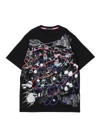 TSUMORI CHISATO / メンズ アトラクションマップT / Tシャツ