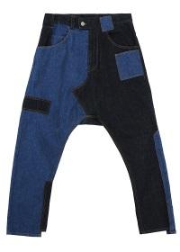 TSUMORI CHISATO / メンズ パッチワークデニム / デニムパンツ