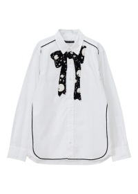 TSUMORI CHISATO / メンズ トゥインクルアップルフロッキーシャツ / シャツ