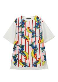 TSUMORI CHISATO / メンズ バードプリントT / Tシャツ