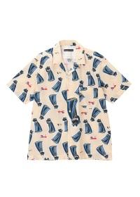 TSUMORI CHISATO / メンズ エジプトキャットミニシャツ / シャツ