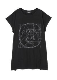 ZUCCa / S レイヤーロゴTシャツ / Tシャツ