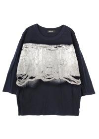 ZUCCa / アンカットジャガード / Tシャツ