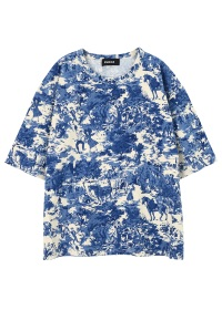 ZUCCa / ウォールペーパージャージィー / Tシャツ