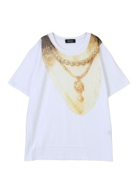 ZUCCa / コラージュプリント Tシャツ / Tシャツ
