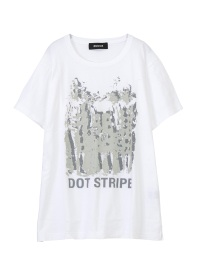 ZUCCa / DOT STRIPE Tシャツ / Tシャツ