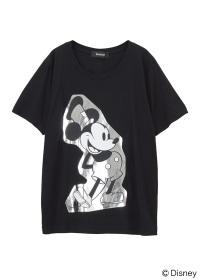 ZUCCa / STANDING MICKEY T / Tシャツ
