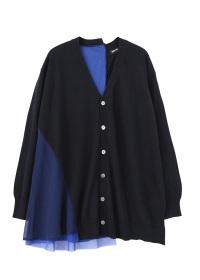 ZUCCa / ドッキングセーター / カーディガン