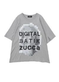 ZUCCa / モザイクロゴTシャツ / Tシャツ