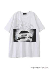 ZUCCa / 《BACK TO THE FUTURE × CABANE de ZUCCa》 DE LOREAN T 1 / Tシャツ