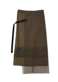 ZUCCa / パッチワークタイプライター / スカート