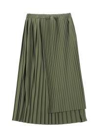 ZUCCa / ランダムプリーツスカート / スカート