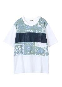 ZUCCa / S ペイズリープリントTシャツ / Tシャツ・