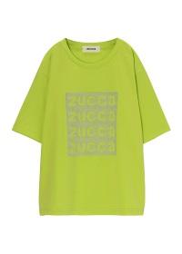 <先行予約> ZUCCa / スタッズロゴTシャツ / Tシャツ