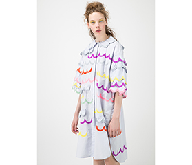 TSUMORI CHISATO PICK UP ITEMS 「春を彩るスカラップ刺繍 インドコットン」