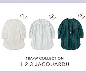 TSUMORI CHISATO PICK UP ITEMS「1.2.3.ジャガード」